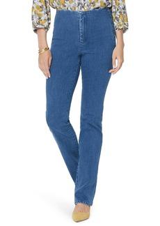 NYDJ Marilyn Flat Front Slim Straight Leg Jeans (Tranquil)