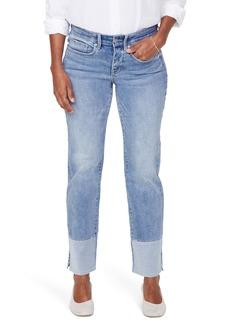 NYDJ Marilyn High Waist Pieced Slit Ankle Jeans (Coheed)