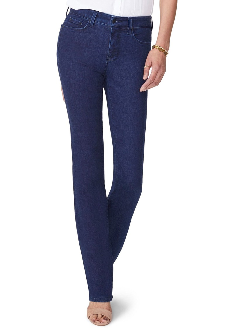 NYDJ Marilyn Stretch Straight Leg Jeans (Rinse) (Petite)