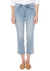 NYDJ Marilyn Lace Stripe Ankle Straight Leg Jeans (Watson)