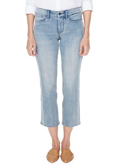 NYDJ Marilyn Lace Stripe Ankle Straight Leg Jeans (Watson)