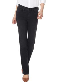 NYDJ Marilyn Muir Garden Pocket Straight Leg Jeans (Dawner)
