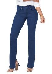 NYDJ Marilyn Side Slit Straight Leg Jeans (Kanan)