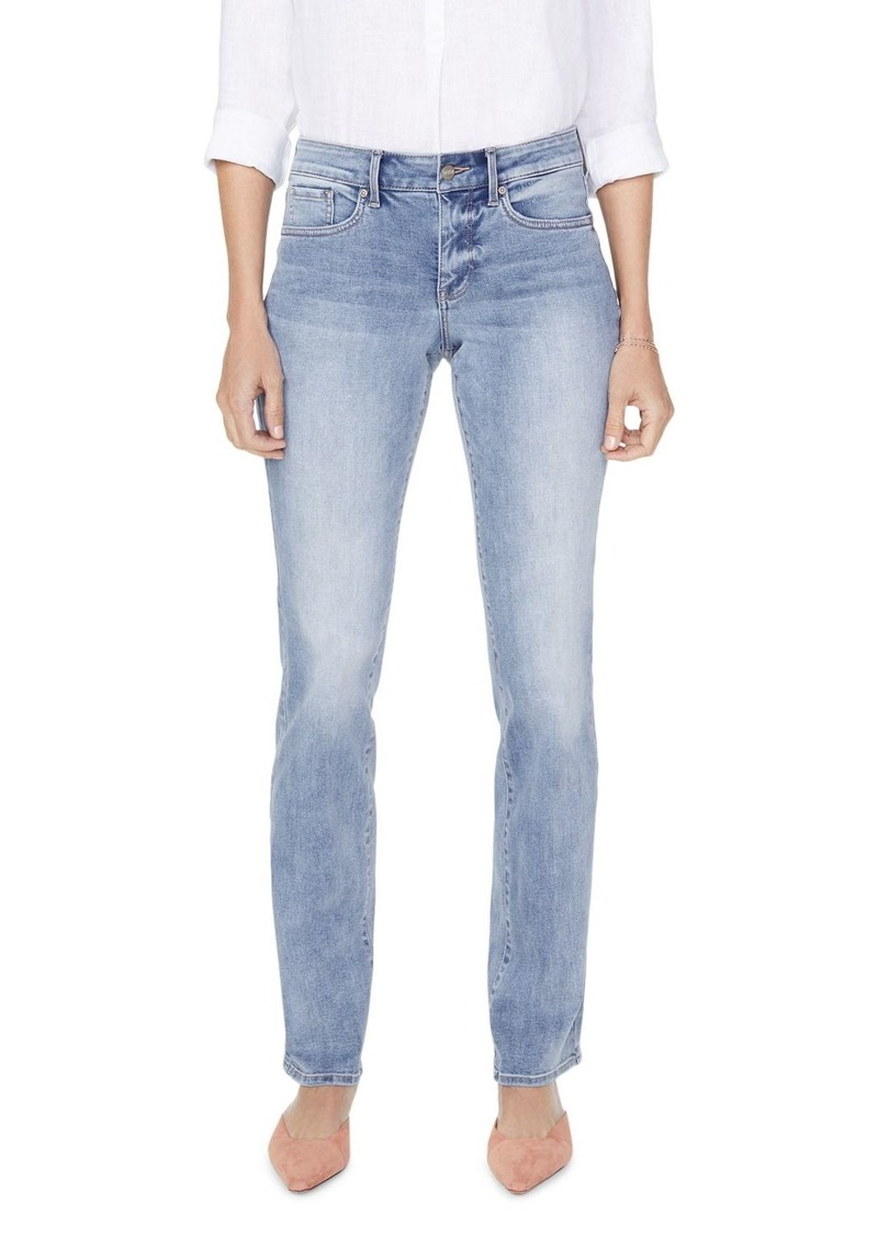 NYDJ Marilyn Straight Jeans in Biscayne
