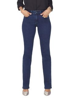 NYDJ Marilyn Straight Jeans in Firesky