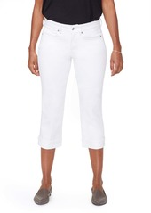 NYDJ Marilyn Straight Leg Capri Jeans (Optic White)