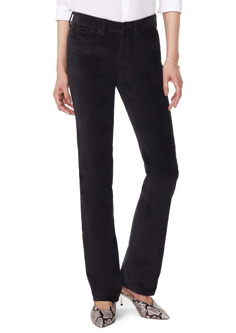 NYDJ Marilyn Straight Leg Velveteen Pants