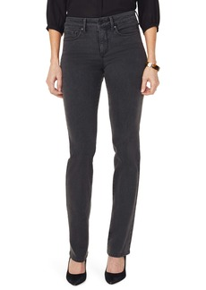NYDJ Marilyn Straight Leg Jeans (Folsom) (Regular & Petite)