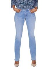 NYDJ Petites Marilyn Straight-Leg Jeans in Saint Vernan