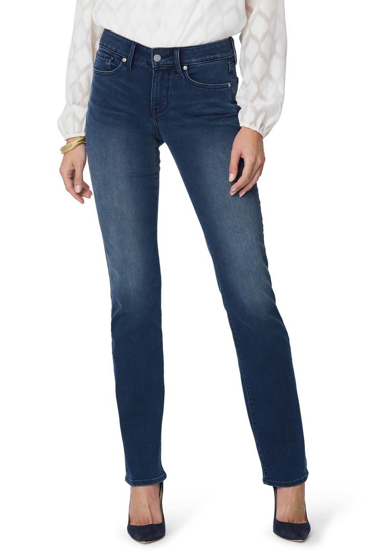 NYDJ Marilyn Straight Leg Jeans (Pilar) (Regular & Petite)
