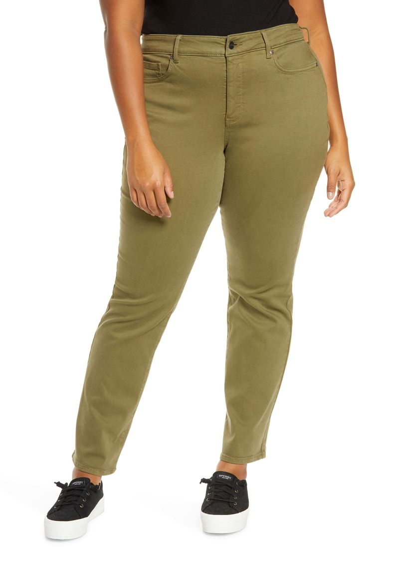 NYDJ Marilyn Straight Leg Jeans (Plus Size)