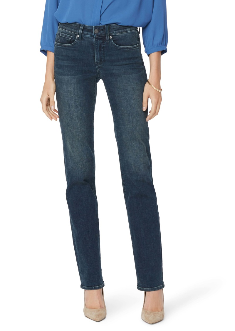 NYDJ Marilyn Straight Leg Jeans (Regular & Petite)