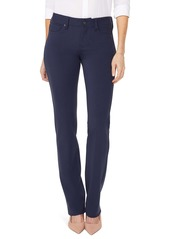 NYDJ Marilyn Straight Leg Ponte Pants (Regular & Petite)