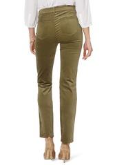 NYDJ Marilyn Straight Leg Velveteen Pants