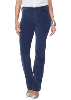 NYDJ Marilyn Straight Leg Velveteen Pants (Regular & Petite)