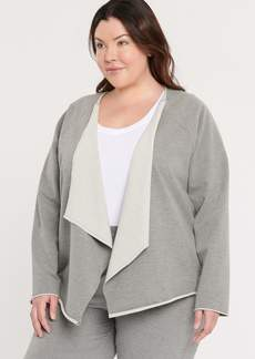 NYDJ Open Front Sweatshirt Jacket