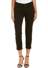 Nydj Petite Jessica Black Destructed Relaxed Boyfriend Cut