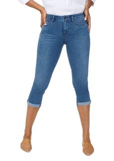 NYDJ Petites Chloe Capri Jeans in Market