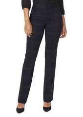 NYDJ High-Rise Plaid Pants - 100% Exclusive