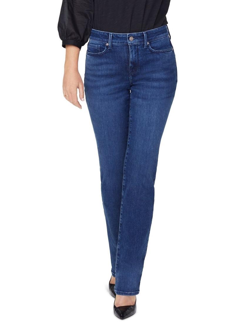 NYDJ Petites Marilyn Straight Jeans in Habana