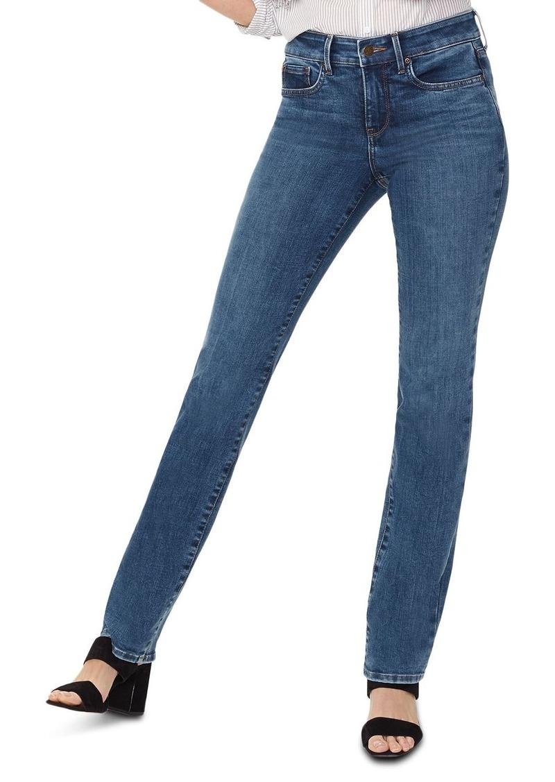 NYDJ Petites Marilyn Straight-Leg Jeans in Presidio