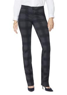 NYDJ Petites Plaid Slim Trousers