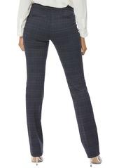 NYDJ Plaid Slim Ponte Trousers