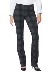 NYDJ Plaid Slim Trousers (Regular & Petite)
