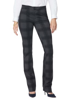 NYDJ Plaid Slim Trousers (Regular & Petite)