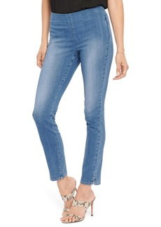 NYDJ Pull-On Ankle Skinny Jeans (Clean Horizon)