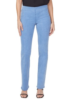NYDJ Pull-On Straight Leg Jeans (Belle Isle)