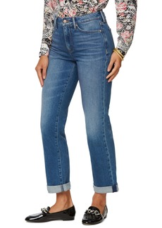 NYDJ Relaxed Straight Leg Cuff Jeans (Duvall)