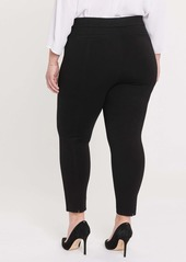 NYDJ Sculpt Her Slit Ponte Leggings (Plus Size)