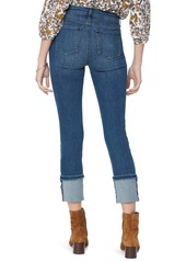 NYDJ Sheri Distressed Tall Cuff Ankle Jeans (Cherish)