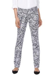 NYDJ Sheri Floral Print Jeans