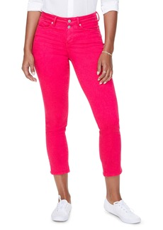 NYDJ Sheri High Waist Slim Fit Crop Jeans