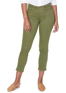 NYDJ Sheri High Waist Slim Fit Crop Jeans