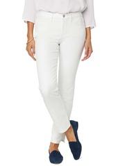 NYDJ Sheri Rivet Side Slit Slim Jeans