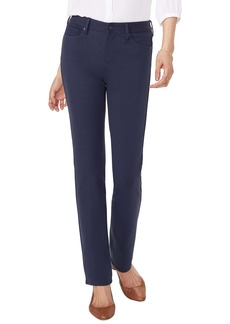 NYDJ Sheri Slim Fit High Waist Pants (Evening Tide)