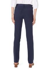 NYDJ Sheri Slim Fit High Waist Pants (Evening Tide)
