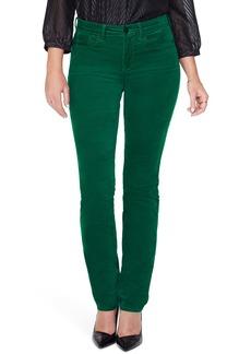 NYDJ Sheri Slim Fit Sateen Jeans (Mountain Pine)