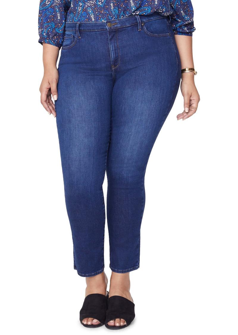 NYDJ Sheri Slim Jeans (Cooper) (Plus Size)