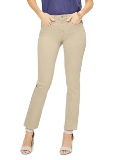 NYDJ Sheri Slim Jeans in Straw