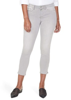 NYDJ Sheri Slit Ankle Jeans (Gale) (Regular & Petite)