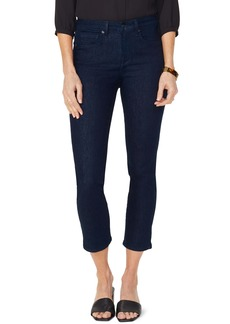 NYDJ Sheri Snap Back Slim Stretch Ankle Jeans (Rinse)
