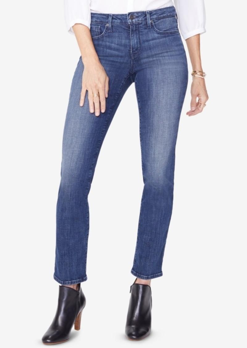 Nydj Sheri Tummy Control Straight-Leg Jeans
