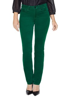 NYDJ Sheri Velvet Slim Jeans in Mountain Pine
