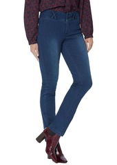 NYDJ Sheri Wide Waistband Slim Jeans (Cooper)