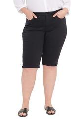 NYDJ Side Slit Capri Jeans (Plus Size)