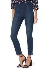 NYDJ Side Slit Pull-On Skinny Jeans (Clean Marcel) (Petite)